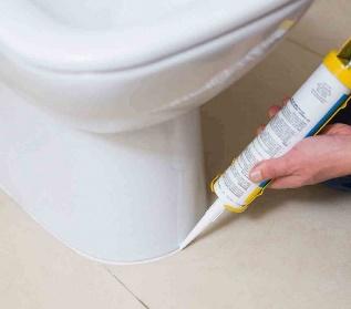 применения герметика в сантехнических работах